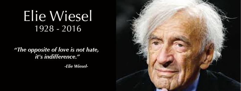 Elie Wiesel Banner